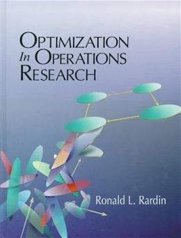 Optimization in Operations Research 1 9780023984150
