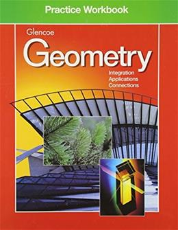 Geometry Practice Workbook (Glencoe Mathematics) 9780028253220