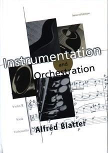 Instrumentation and Orchestration, by Blatter, 2nd Edition 9780028645704
