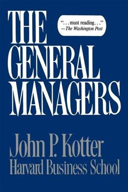 The General Managers 1 9780029182307