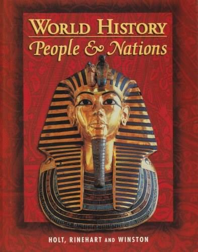 World History: People and Nations, by Mazour, Grades 9-12 9780030533594