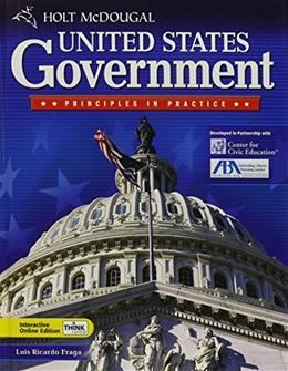 United States Principles and Practices, by McDougal Littell, Grades 9-12 9780030930287