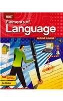 Holt Elements of Language, by Irvin, Grade 8, Course 2 9780030941948