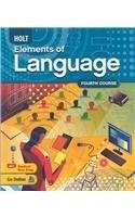 Holt Elements of Language, by Irvin, Grade 10, 4th Course 9780030941962