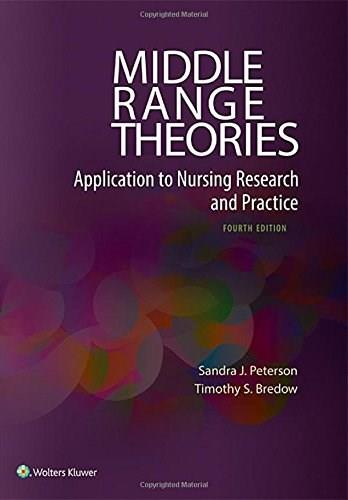 Middle Range Theories: Application to Nursing Research and Practice 4 Pap/Psc 9780060000448