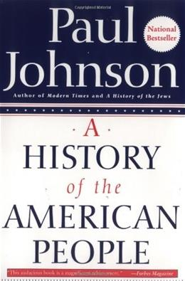 History of the American People, by Johnson 9780060930349