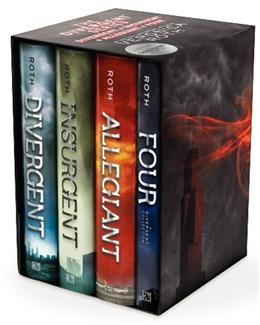 Divergent, by Roth, 4 BOOK SET PKG 9780062352163