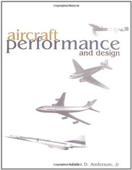 Aircraft Performance and Design, by Anderson 9780070019713