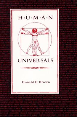 Human Universals, by Brown 9780070082090
