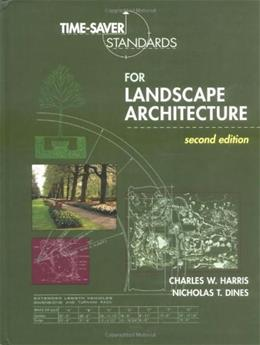 Time Saver Standards for Landscape Architecture, by Harris, 2nd Edition 9780070170278