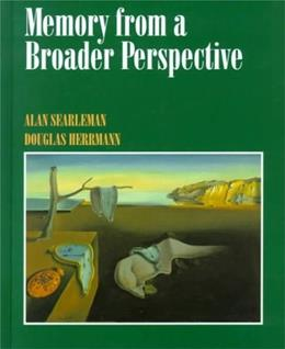 Memory from a Broader Perspective, by Searleman 9780070283879