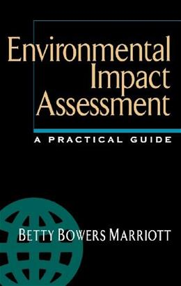 Environmental Impact Assessment: A Practical Guide, by Marriott 9780070404106
