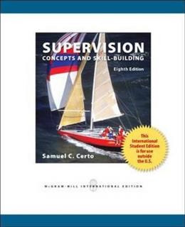 Supervision: Concepts and Skill-Building 8 9780071318365
