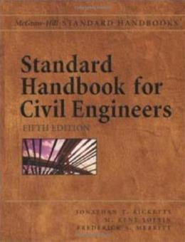 Standard Handbook for Civil Engineers, by Ricketts, 5th Edition 9780071364737