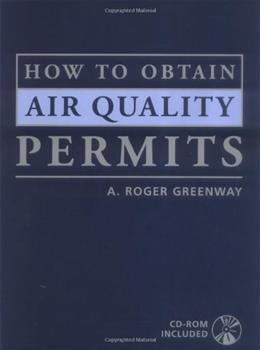 How to Obtain Air Quality Permits, by Greenway BK w/CD 9780071379755