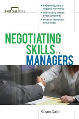 Negotiating Skills for Managers 1 9780071387576