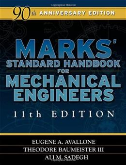 Marks Standard Handbook for Mechanical Engineers, by Avallone, 11th Edition 9780071428675