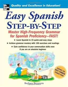 Easy Spanish Step by Step, by Breigstein 9780071463386
