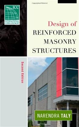 Design of Reinforced Masonry Structures, by Taly, 2nd Edition 9780071475556