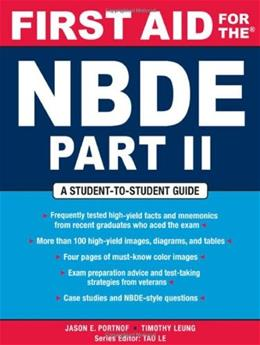 First Aid for the NBDE, by Portnof 9780071482530