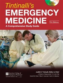 Tintinallis Emergency Medicine: A Comprehensive Study Guide, Seventh Edition 7 w/DVD 9780071484800