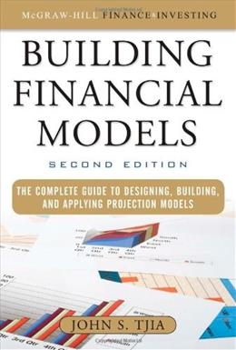 Building Financial Models, by Tjia, 2nd Edition 9780071608893