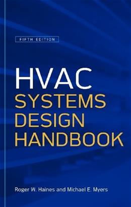 HVAC Systems Design Handbook, by Haines, 5th Edition 9780071622974