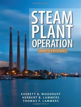 Steam Plant Operation, by Woodruff, 9th Edition 9780071667968