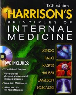 Harrisons Principles of Internal Medicine, Vol. 1 and 2; 18th Edition 18 PKG 9780071748896