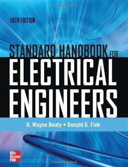 Standard Handbook for Electrical Engineers, by Beaty, 16th Edition 9780071762328