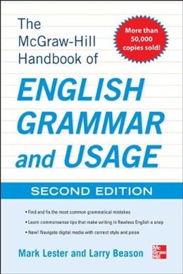 McGraw-Hill Handbook of English Grammar and Usage, by Lester, 2nd Edition 9780071799904
