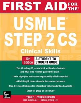 First Aid for the USMLE Step 2 CS 5 9780071804264