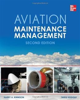 Aviation Maintenance Management, by Kinnison, 2nd Edition 9780071805025