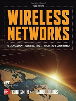 Wireless Networks, by Smith, 3rd Edition 9780071819831
