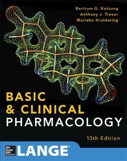 Basic and Clinical Pharmacology 13 E 9780071825054