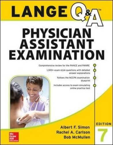 LANGE Q&A Physician Assistant Examination, 7th Edition (Lange Q&A Allied Health) 9780071845052