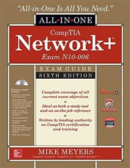 CompTIA Network+ All-In-1 Exam Guide, by Meyers, 6th Edition 6 w/CD 9780071848220
