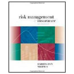 Risk Management and Insurance 2 9780072339703
