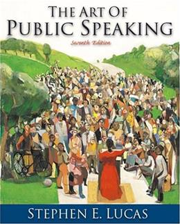 Student Workbook for use with The Art of Public Speaking 7 9780072384895