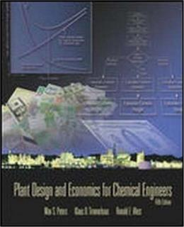 Plant Design and Economics for Chemical Engineers 5 9780072392661
