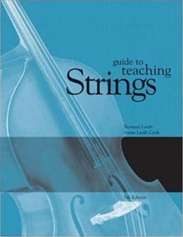 Guide to Teaching Strings, by Lamb, 7th Edition 9780072414226