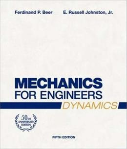 Mechanics for Engineers: Dynamics, by Beer, 5th Edition 9780072464771
