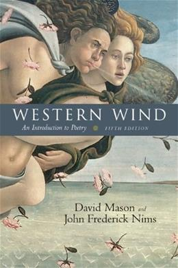 Western Wind: An Introduction to Poetry, 5th Edition 9780072819595