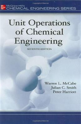 Unit Operations of Chemical Engineering (7th edition)(McGraw Hill Chemical Engineering Series) 9780072848236