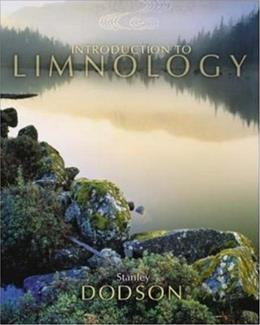 Introduction to Limnology, by Dodson 9780072879353
