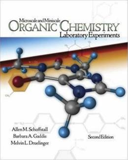 Microscale and Miniscale Organic Chemistry Laboratory Experiments, by Schoffstall, 2nd Edition 2 w/CD 9780072943382