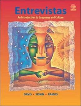Entrevistas: An Introduction to Language and Culture, by Davis, 2nd Edition 2 PKG 9780072956467