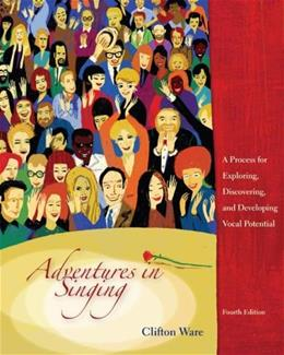 Adventures in Singing, by Ware, 4th Edition 9780072977592