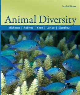 Animal Diversity, by Hickman, 6th Edition 9780073028064