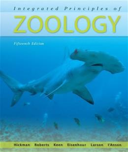 Integrated Principles of Zoology 15 9780073040509